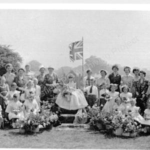 May Day In Grenoside With Former Queens