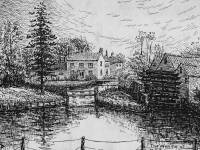 Fisheries Cottages and Mill, Mitcham