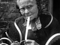 Widow Bignall, basketmaker