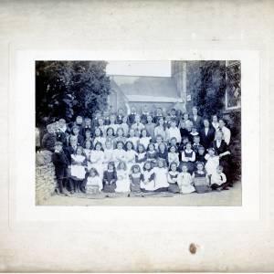 Church and School House, Staunton-on-Arrow