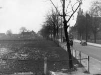 London Road, Mitcham: view from Cricket Green