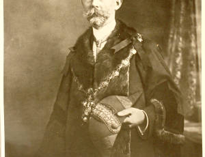 1907-1908, George Hunter, Mayor of Leigh