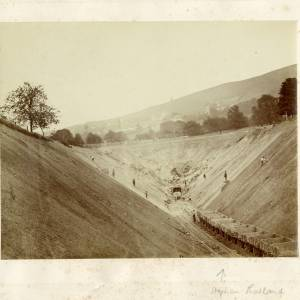 Building Malvern Tunnel