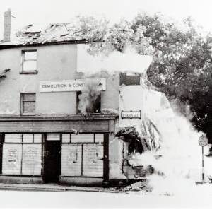 Barton Shops next to Barton Tavern, 1960s