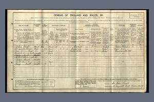 1911 Census for 15 Dingwall Road, Wandsworth