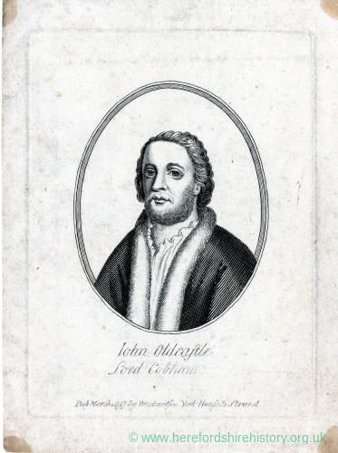 John Oldcastle, Lord Cobham, c1370 - 1417