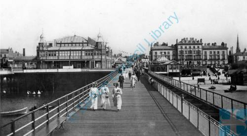 The Pier Southport c1880