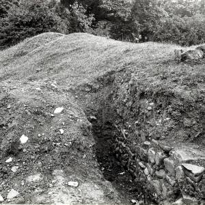 Breinton Camp excavation, 1922
