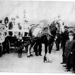 Hospital Parade 1909 Bottom of Church Street