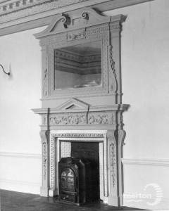 Morden Hall: Period fireplace