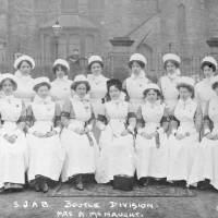 Nursing staff, Breeze Hill, Bootle