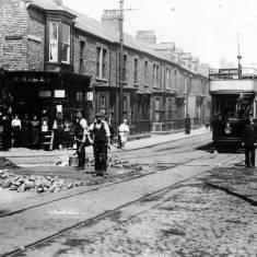 First Electric Tram