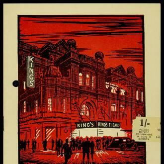King's Theatre, Glasgow, November 1965