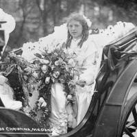 Miss Christina McDonald, Bootle May Queen, 1912