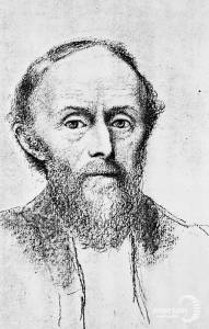 William de Morgan, Ceramicist: A sketch by his wife