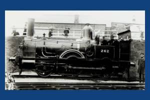 LSWR Beattie Well tank at Wimbledon Station