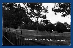 Cottenham Park Recreation ground, Raynes Park