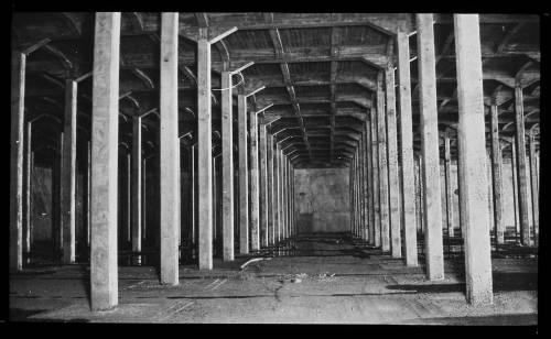 Aisle at Bishopwood service reservoir