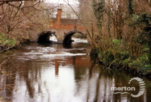 Bridge over River Wandle, Bishopsford Road, Mitcham