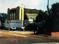 Former Odeon cinema, Morden: Prior to demolition