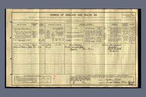 1911 Census for Inverlodden Cottage, Wargrave, Berks