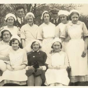 Grenoside Isolation Hospital Staff Group c. 1920s (1)
