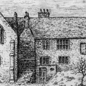 Ecclesfield Priory line drawing