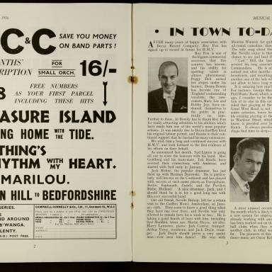 Musical News And Dance Band Vol.1 No.5 February 1936 0003