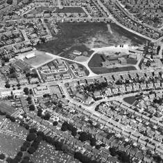 Highfield Road, Aerial view