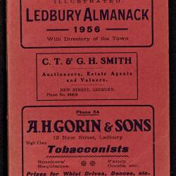 Tilley's Ledbury Almanack 1956