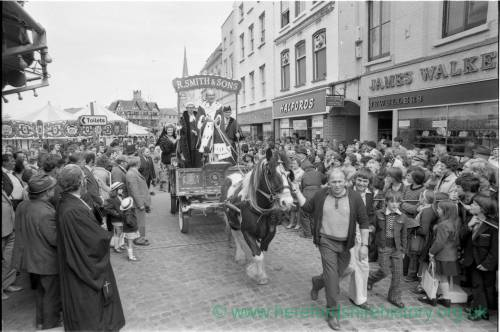 The civic opening of the Hereford May Fair in 1975