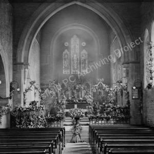 Interior of St Saviour's Church, Mortomley.