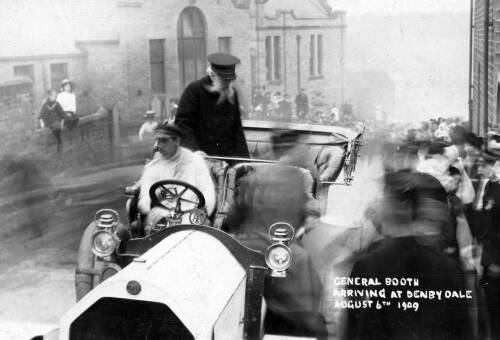 085 General Booth arriving at Denby Dale, August 6 1909