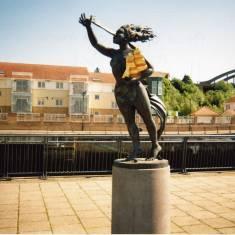 """Spirit of Old South Shields', Market Dock"