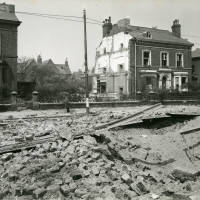 Stanley Road, bomb damage, blitz