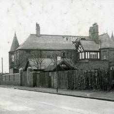'Sylverton',  Horsley Hill Road.  Incendiary bomb damage.