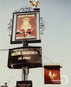 Pub Sign, The King of Denmark, Ridgway, Wimbledon