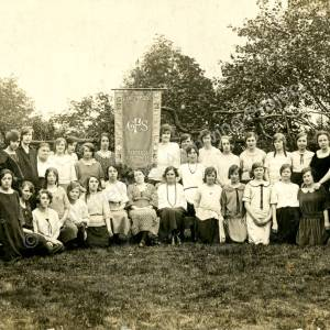 Grenoside Girls Friendly Society c1924.a