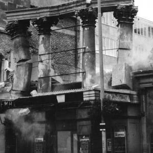 Demolition of Kemble Theatre, Hereford, 1963