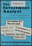 The Investment Analyst 1982 January