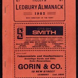 Tilley's Ledbury Almanack
