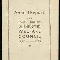 Annual Report of the South Shields Unemployed Recreation Committee 1938