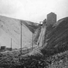 1920s Dunstable Lime Co Ltd Sewell View of the Steep Rise Out of the Works.