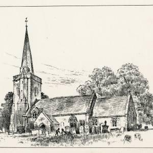 St Deinst Church, Llangarron