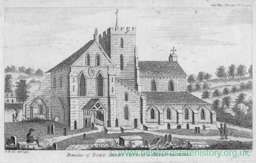 Dore Abbey, 1791