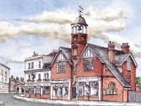 The old Fire Station, High Street, Wimbledon