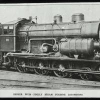 Escher Wyss-Zoelly steam turbine locomotive