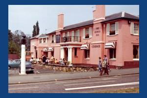 Epsom Road: George Inn, Morden