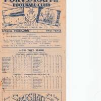 19480901 Official Programme Charlton Athletic Home FC