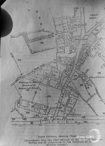 Plan of Upper Mitcham, 1867, showing Eagle House